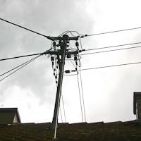 Dachständer Strom