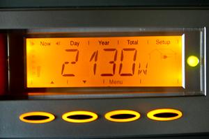 PV Wechselrichter Display