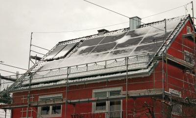 Fertigstellung der Installation am 18.12.2005