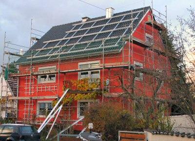 SIKO Solargestell fertig montiert (ohne Abdeckschienen)