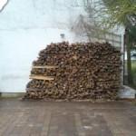 Neue Holzlieferung für 2007