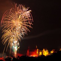 Feuerwerk Neuburger Schlossfest