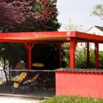 Carport / Holzlege bauen