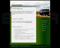 Screenshot Webseite Ebner Anhaenger