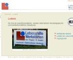 Screenshot Lebenshilfe Ingolstadt
