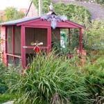 ein Hühnerhaus bauen …
