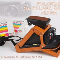 Polaroid SX70 Land Camera
