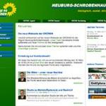 Neue Webseite der Grünen