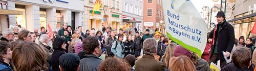 Demo Ansprache zur Mahnwache