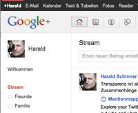 Mein Google Plus Profil