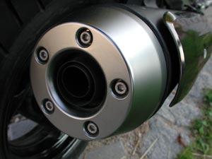 TMAX500 Auspuff
