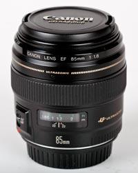 Canon 85mm Objektiv