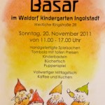 Einladung zum Adventsbasar mit Infostand