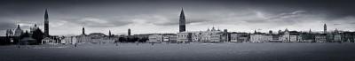 Panorama Venedig vom Vaporetto aus