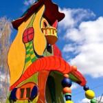 Bauanleitung Hundertwasser Vogelvilla