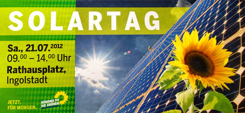 SOLARTAG Ingolstadt 2012