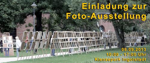 Fotoausstellung im Klenzepark