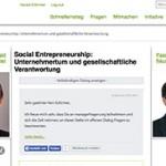 Unternehmertum und gesellschaftliche Verantwortung