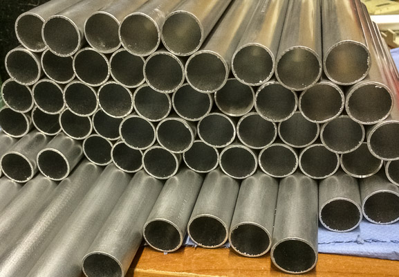 25mm Aluminium Rohre