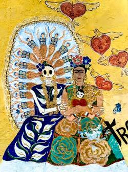 Frida - an der Wand