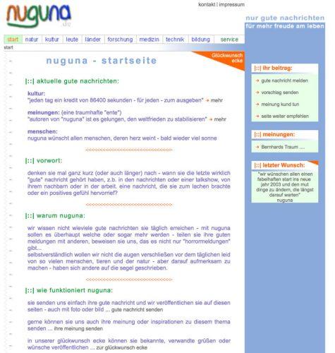 NuGuNa Screenshot 2002