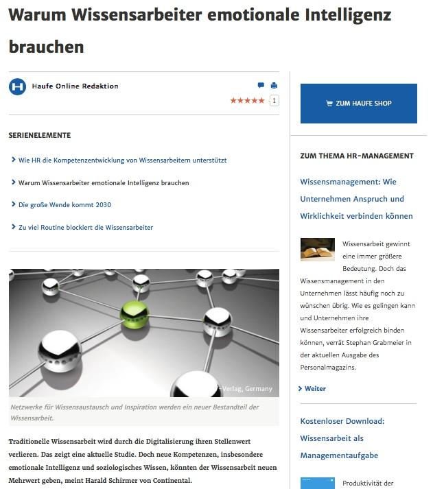 Thumbnail of http://www.harald-schirmer.de/2017/12/05/warum-wissensarbeiter-emotionale-intelligenz-brauchen/