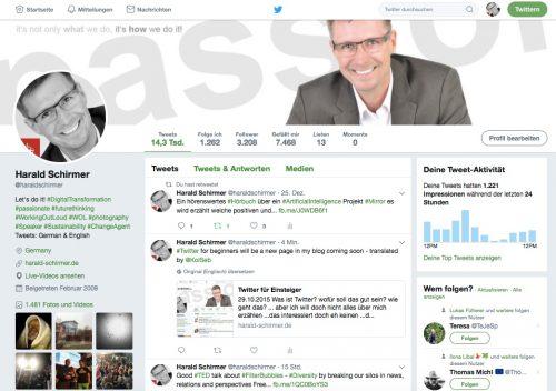 Twitter Profil Harald Schirmer