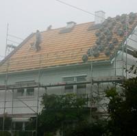 Nebelaktion - Dachdecken
