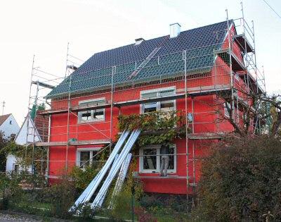 Renoviertes Dach vor der Installation