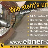 Ebner Reparatur Werbeflyer