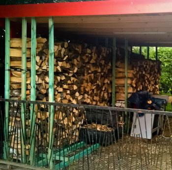 Carport Holzgestell