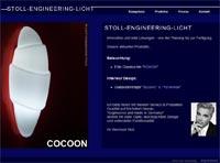 Screenshot Stoll Engineering Licht