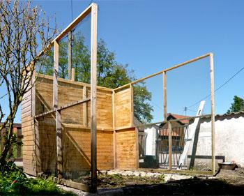 Hühnerhaus Rahmen