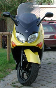 TMAX500 Front