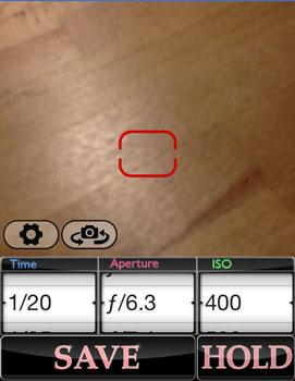 iphone App LuxMeter