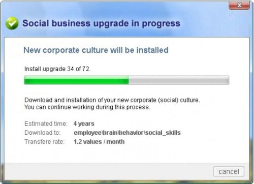 Kultur ist kein Software Download