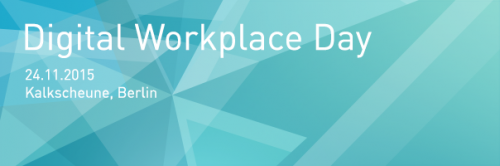 Digital Worplace Day 2015