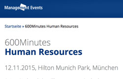 Keynote at 600 Minutes HR