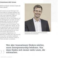 Ausschnitt HAUFE Interview Schirmer/Continental