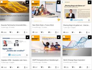 Präsentationen auf Slideshare